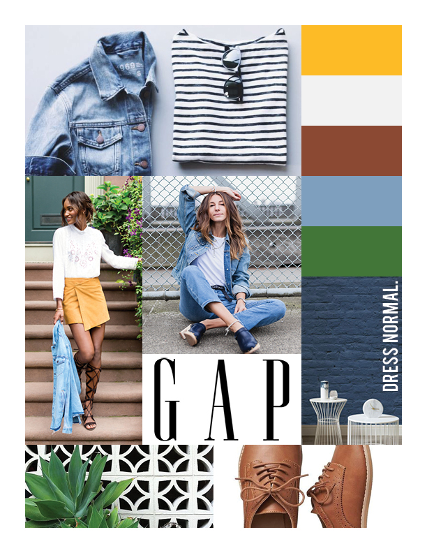 Gap Mood Board 2