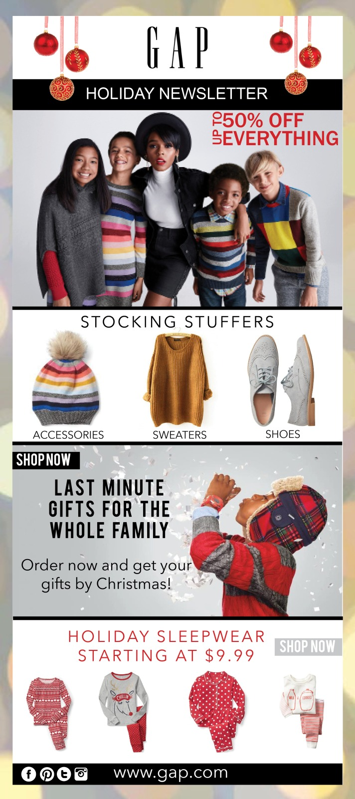Gap Newsletter