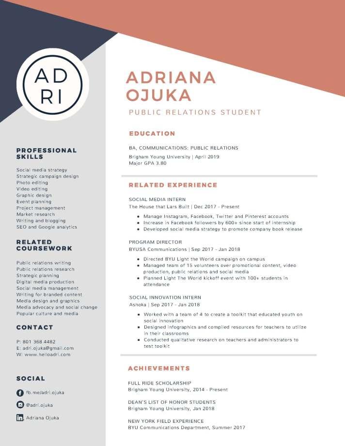 Resume_Adriana Ojuka